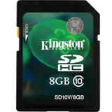 KINGSTON SDHC 8GB Class 10 [SD10V/8GB] - Secure Digital / Sd Card